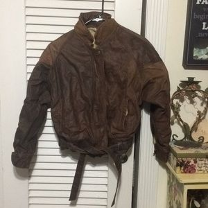 Gorgeous YKK Leather Jacket